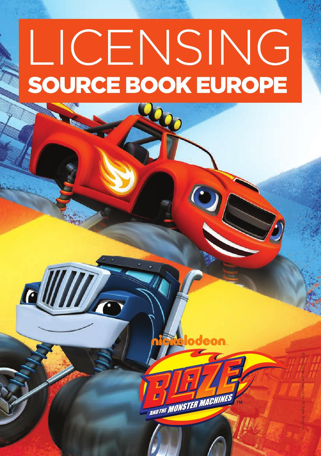 Licensing Source Book Europe Spring 2016 By Max Publishing
