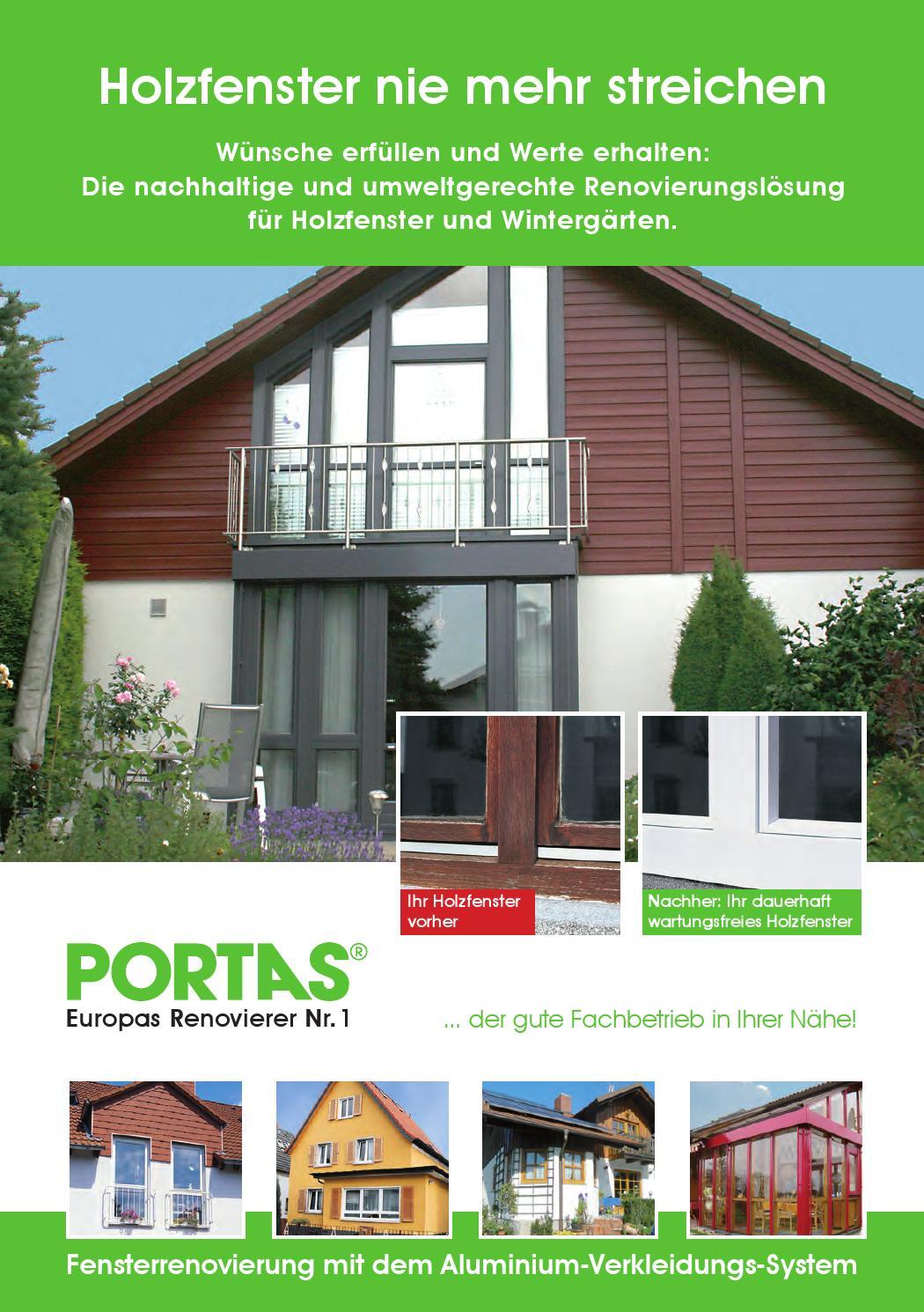 Portas Fenster Renovierungs Katalog 12 2015 By Portas