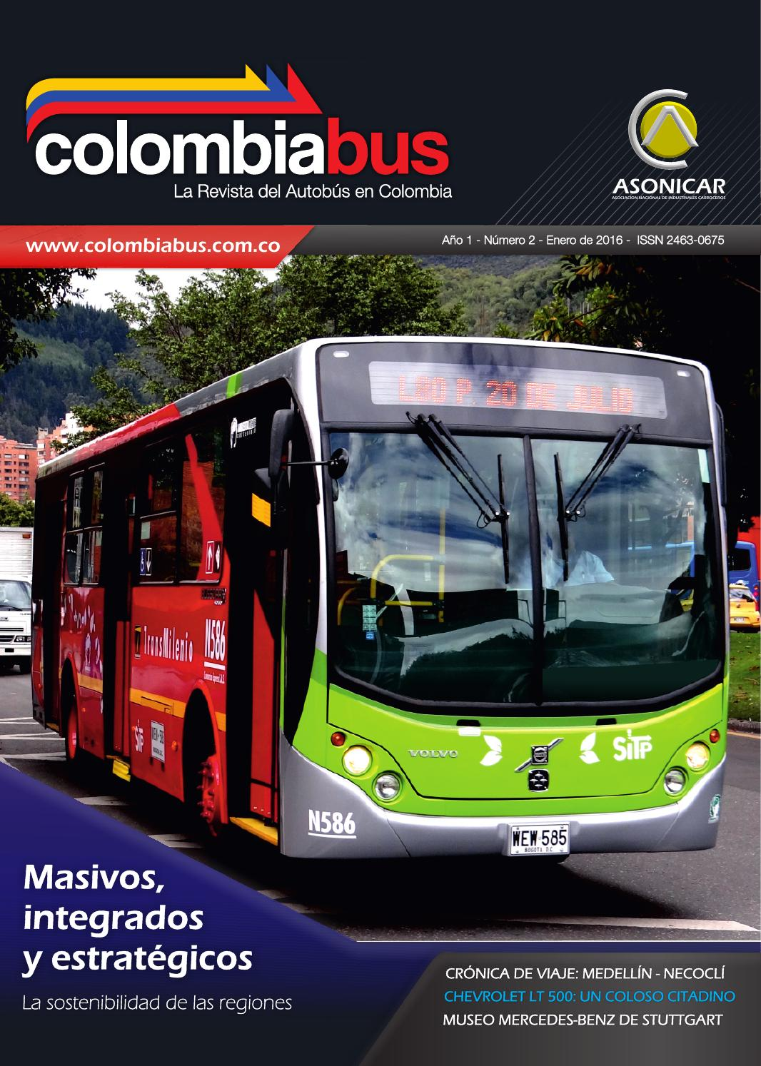 Revista Colombiabus enero 2016 - Ed. 2 by Colombiabus - issuu