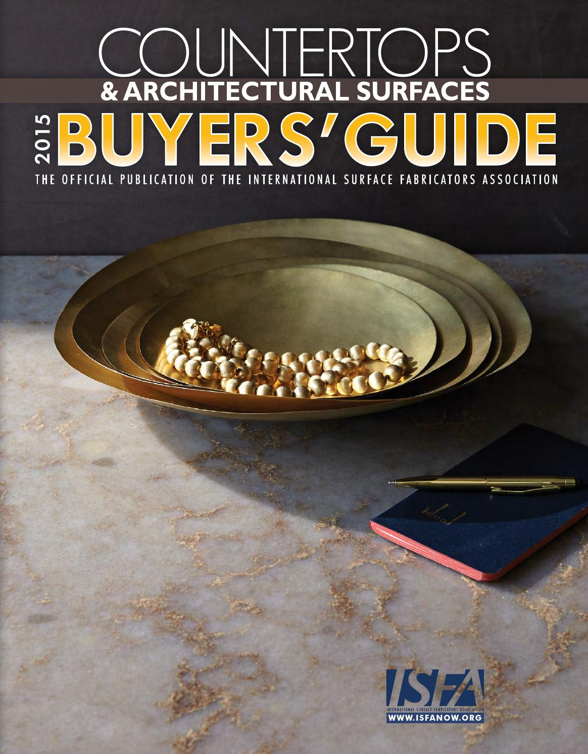 Isfa countertops architectural surfaces 2015 buyers guide by isfa isfa countertops architectural surfaces 2015 buyers guide by isfa issuu fandeluxe Choice Image