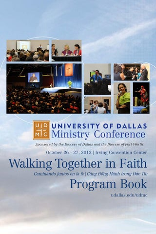 2012 Udmc Program Book By Dallas Ministry Conference Issuu