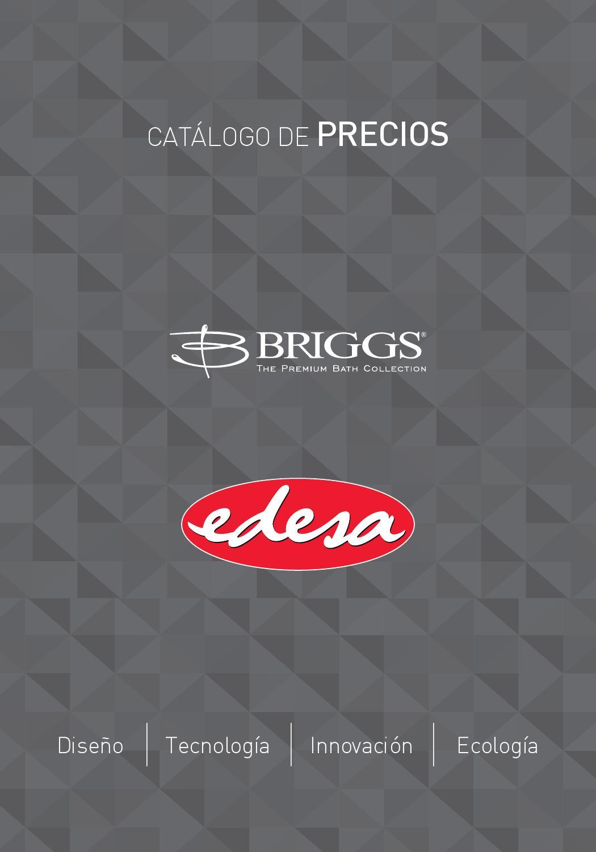 Catalogo Precios Edesa Briggs 2015 By Edesa Ecuador
