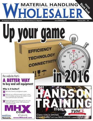 Material handling wholesaler february 2016 by material handling page 1 fandeluxe Choice Image