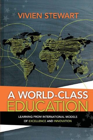 A world class education stewart vivien by nereida cruz cruz issuu a world class fandeluxe Gallery