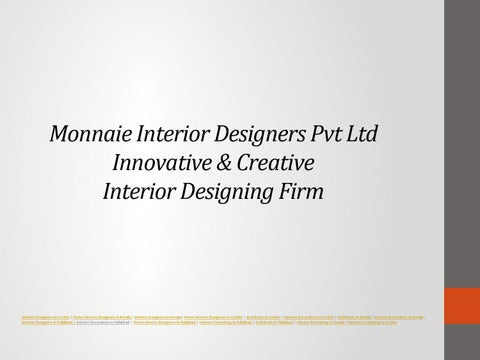 Monnaie Interior Designers Pvt Ltd Top Interior Designers In I by