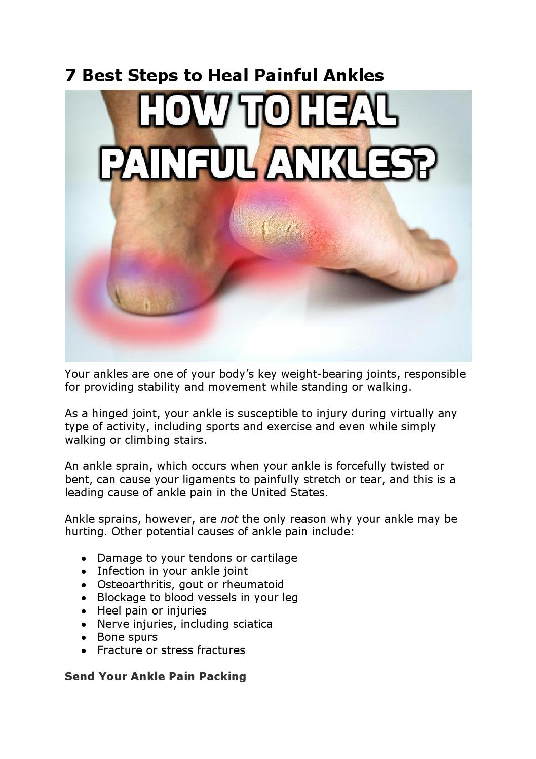 7 best steps to heal painful ankles by how2stayyoung