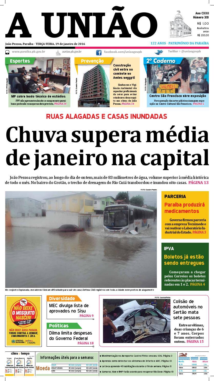 0b876da341 Jornal A União19 01 16 by Jornal A União - issuu