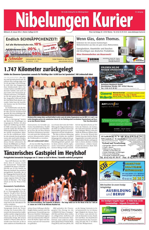 7fbf6220da25b0 03mi16 nibelungen kurier by Nibelungen Kurier - issuu