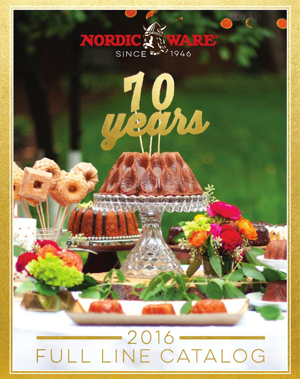 Nordic Ware Full Line Catalog 2016 By Nordic Ware Issuu