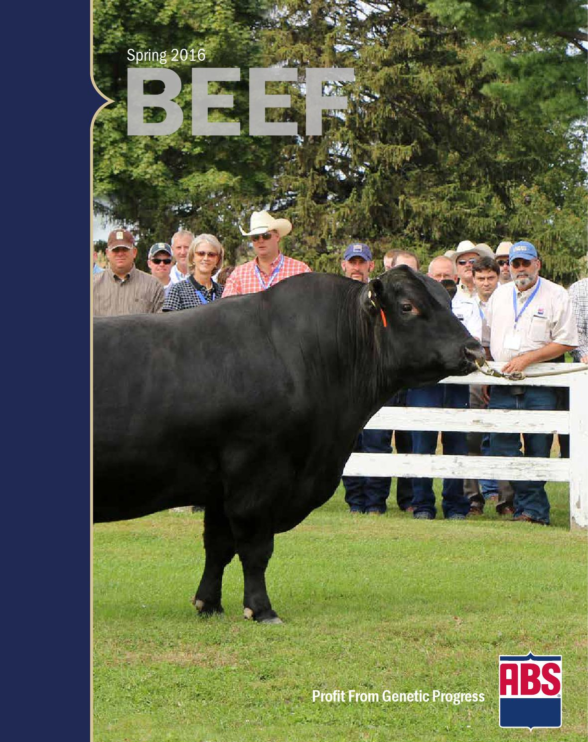 Spring 2016 Beef Sire Directory by ABS Global, Inc  - issuu