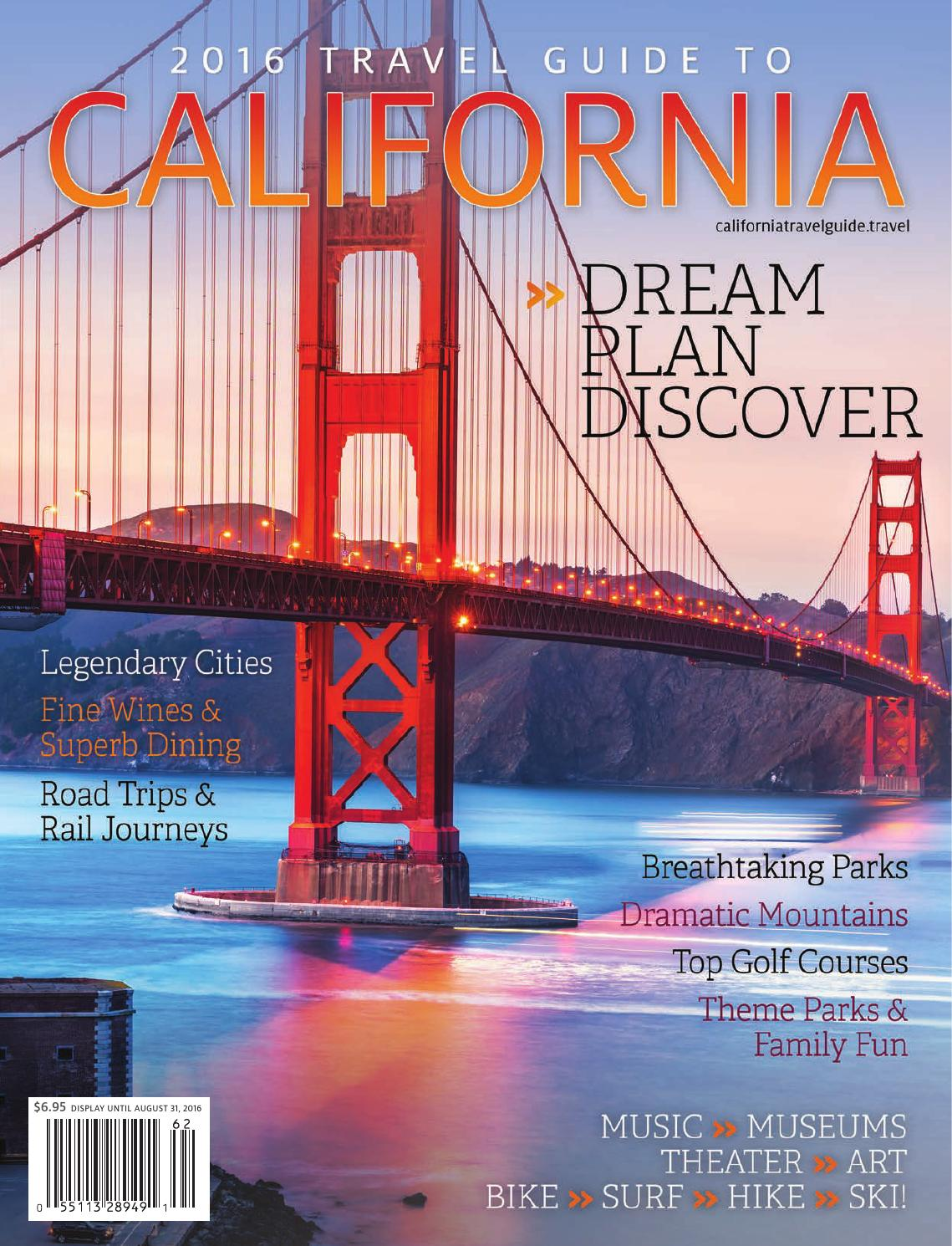 2016 Travel Guide to California by MarkintoshDesign - issuu 64283f33e