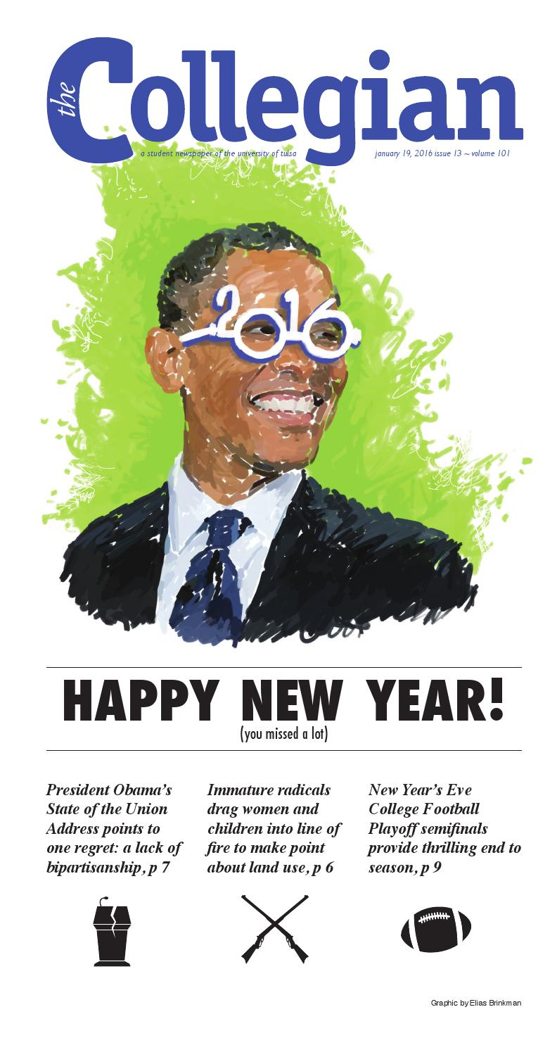 9ed142d70c4 18 January 2016 by The Collegian  Student Newspaper of the University of  Tulsa - issuu