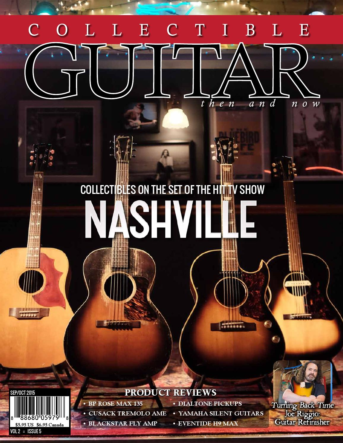Collectible Guitar Magazine Then And Now Sepoct 2015 By