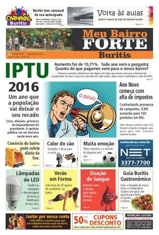 5b48aa8f36 Jornal Meu Bairro Forte Buritis - Janeiro 2016 by Buritis Forte - issuu