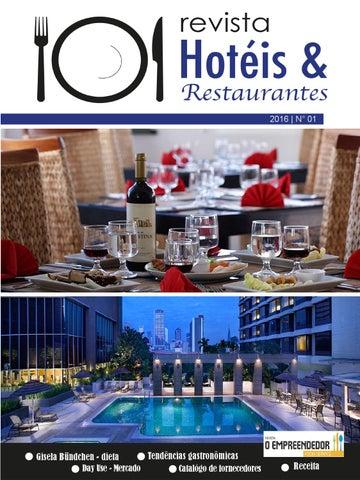 9a6a5dd4bb Revista Hotéis   Restaurantes - Ed. 01 by Max Foods Comunicação ...