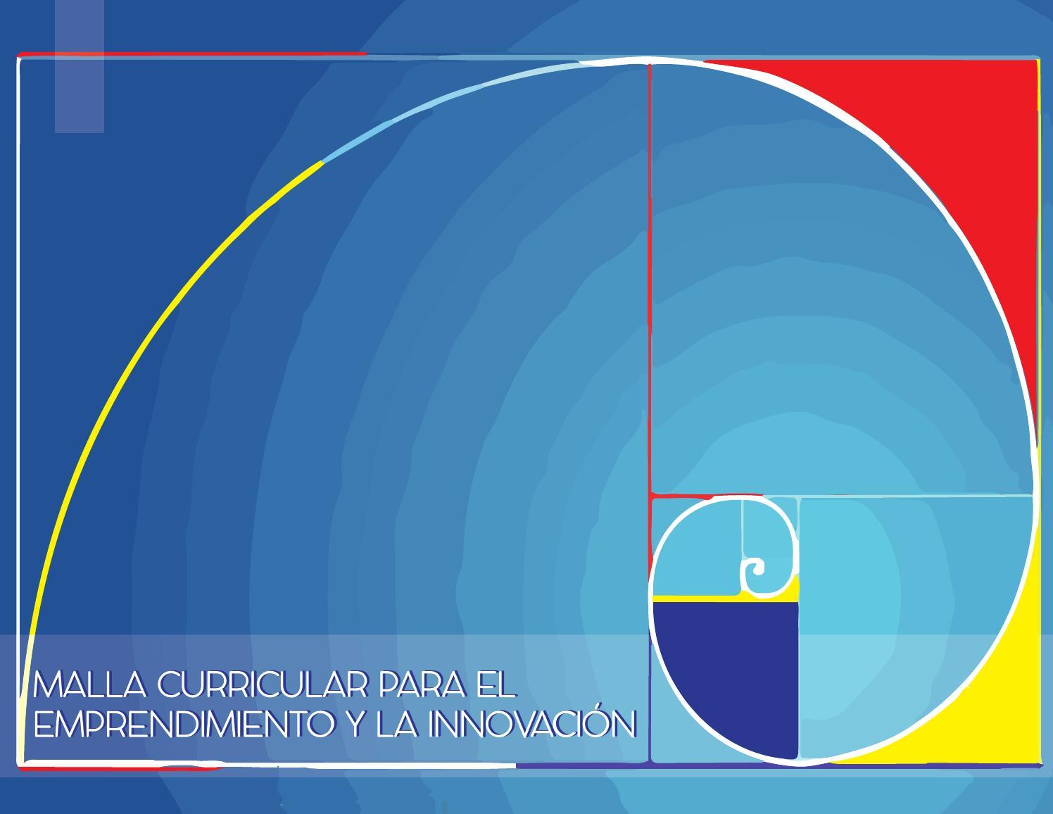 Malla curricular para el emprendimiento y la innovación by María ...