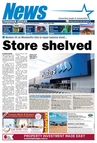 News - Pakenham Officer - 21st January 2016