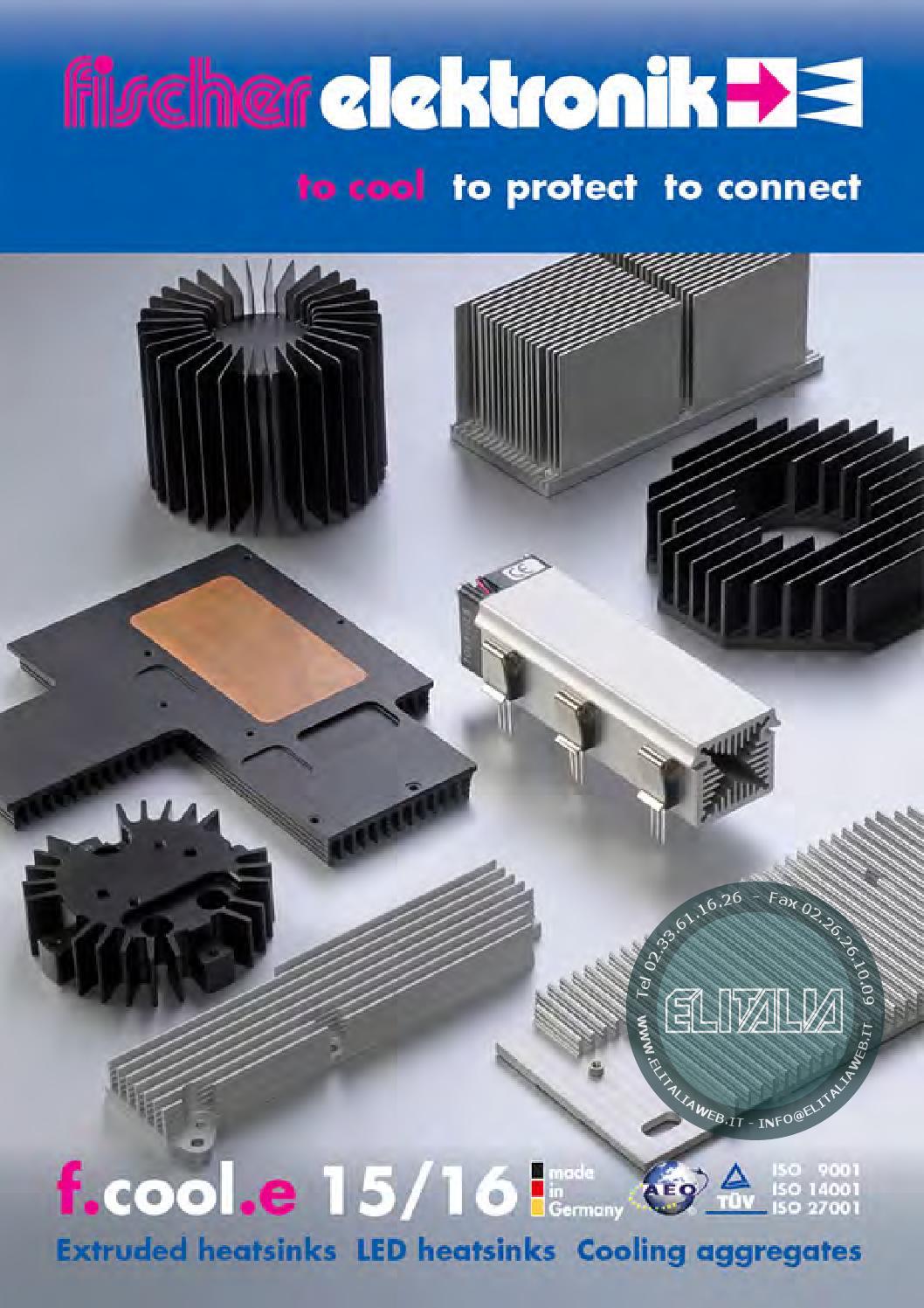 Extruded Aluminium PCB Heatsink 159 X 100 Cooler Fin