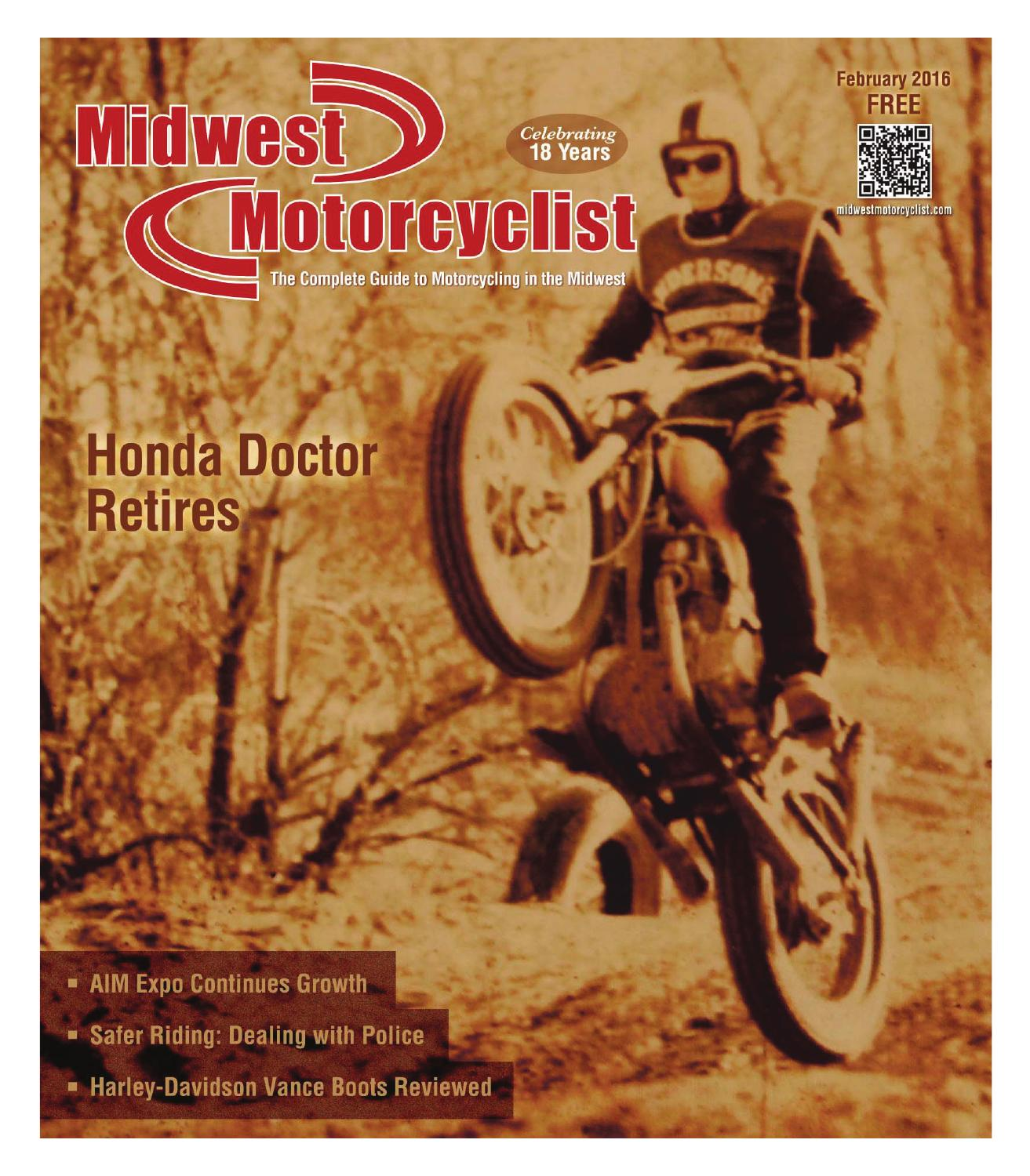 Midwest Motorcyclist(TM), February 2016 issue by Midwest