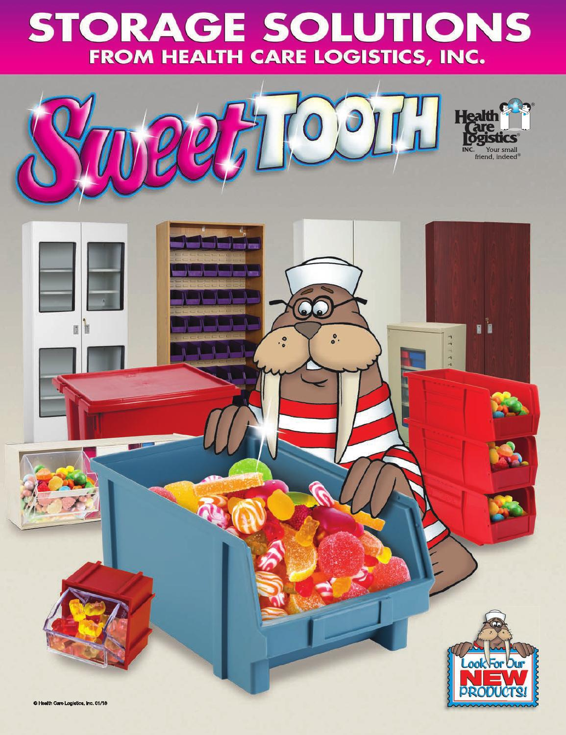 Sweet Tooth Storage Solutions By Health Care Logistics Issuu
