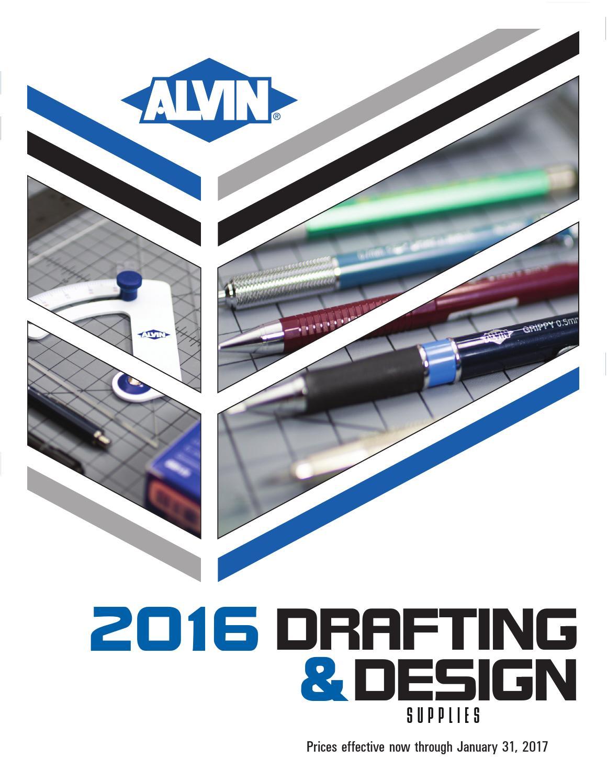 2016 Alvin Drafting Design Catalog By Alvin Drafting Issuu