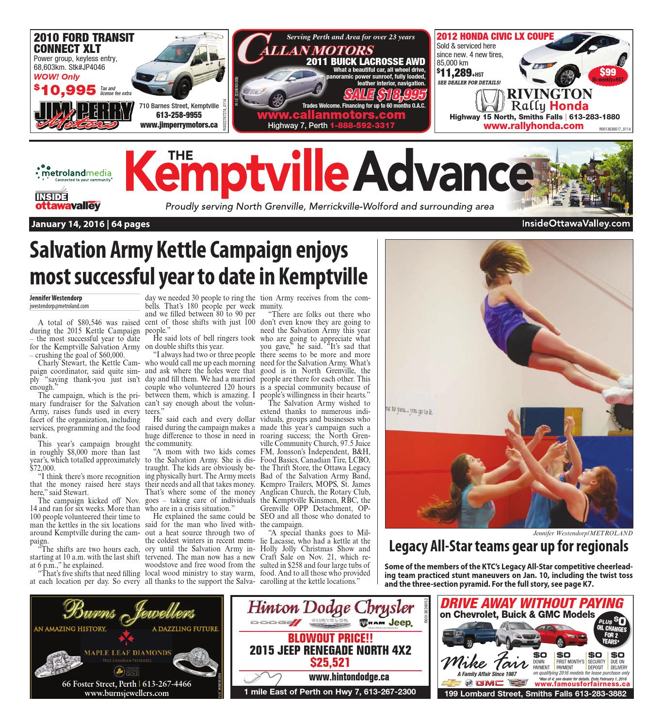 Kemptville011114 by Metroland East - Kemptville Advance - issuu