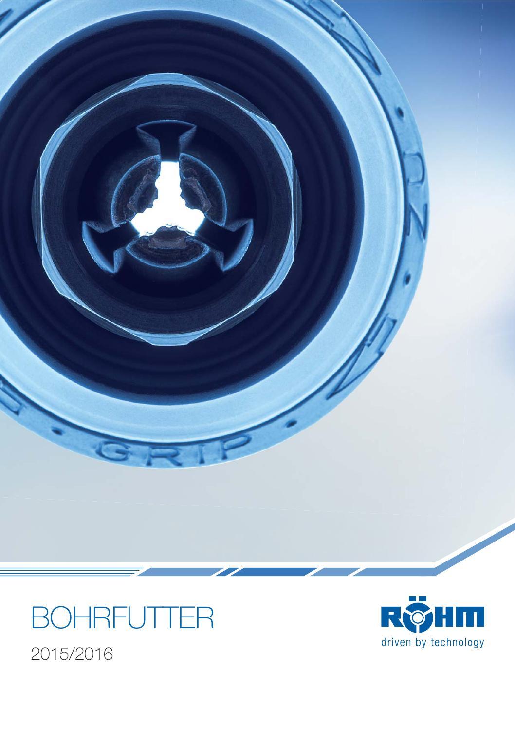 Röhm SPIRO Größe 16 Schnellspann- Bohrfutter Metall 871017 3-16mm B18 Konus