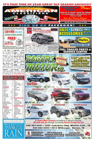 Digital edition 1 21 16 by wichita falls american classifieds issuu page 1 fandeluxe Image collections
