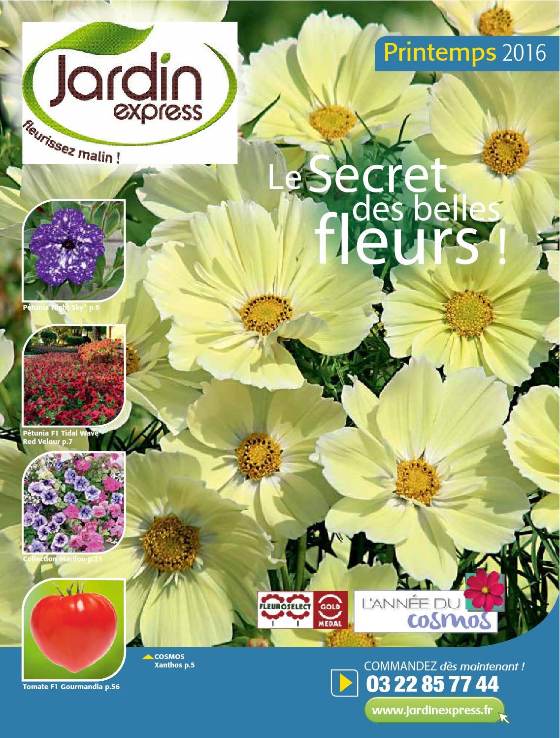 Jardin Express : collection Printemps 2016 by Jardin ...