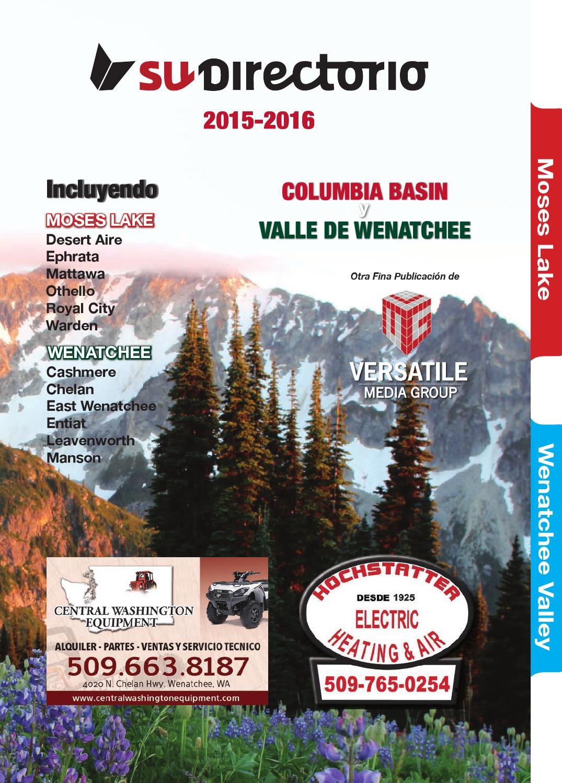Su Directorio 2015 2016 Moses Lake Wenatchee By Versatile Media