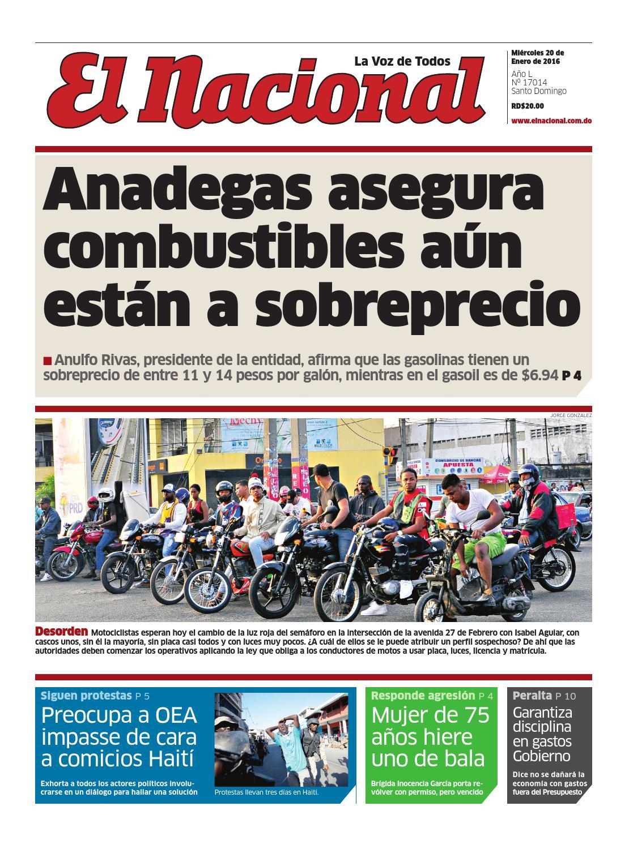 Impreso20 01 16 by Periodico El Nacional - issuu