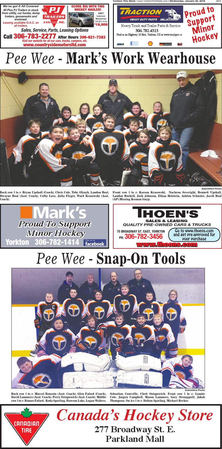 Minor Hockey by Yorkton This Week - issuu