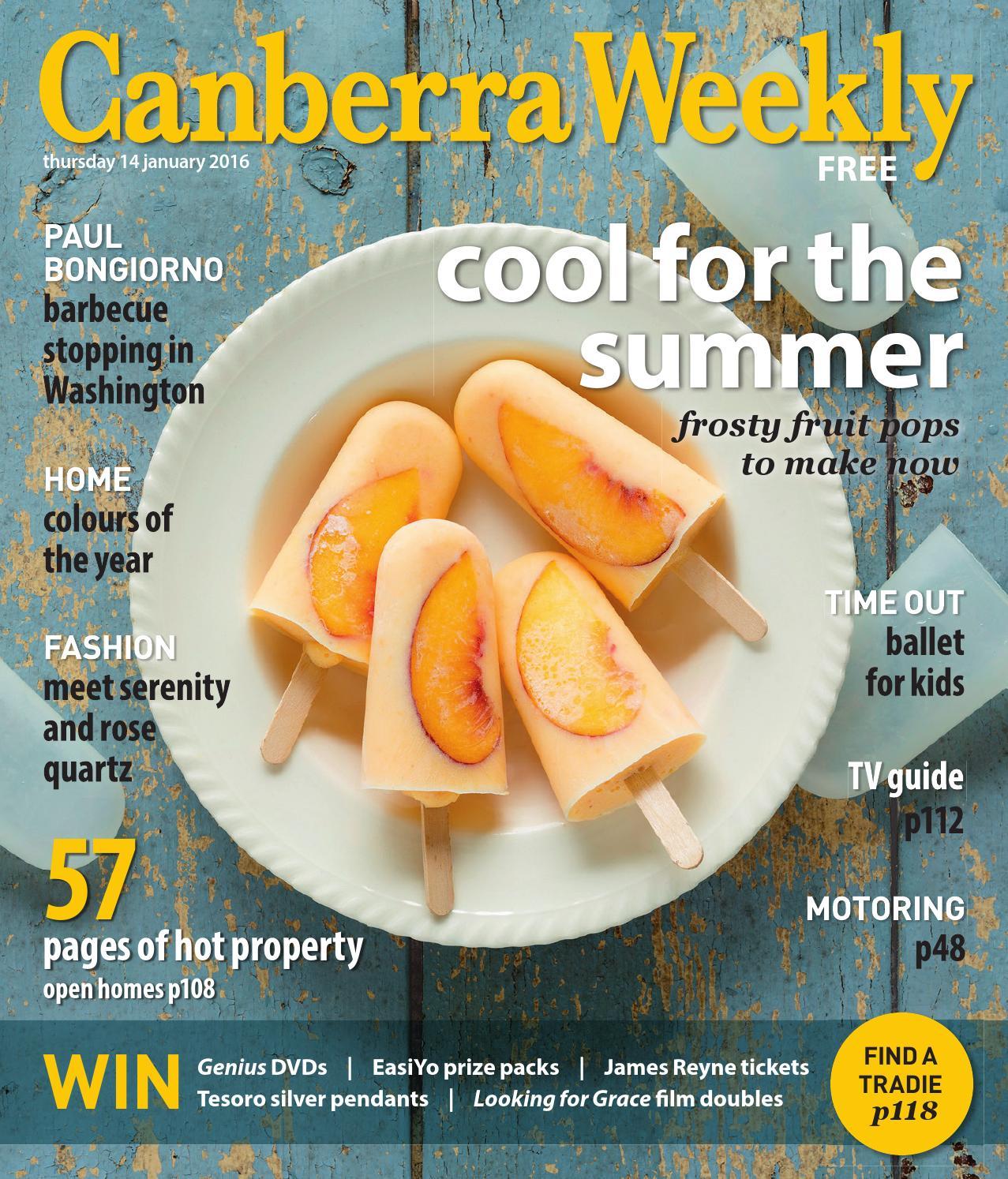 14 January 2016 By Canberra Weekly Magazine Issuu Krezi Kamis 26 Bourjois Rouge Edition Velvet Lipstick