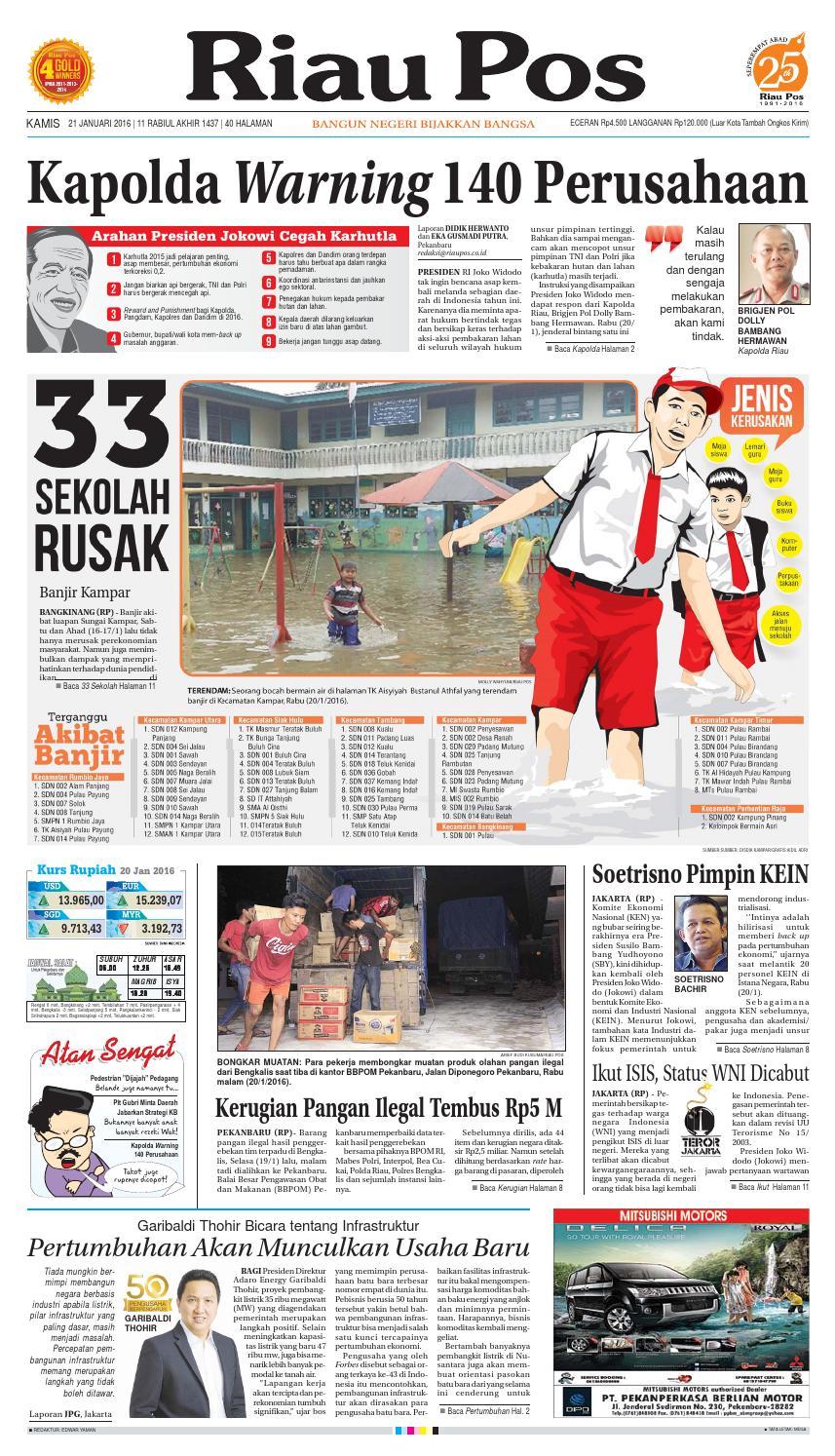 Riau Pos By Issuu Produk Ukm Bumn Barbekyu Kelitik Surabaya
