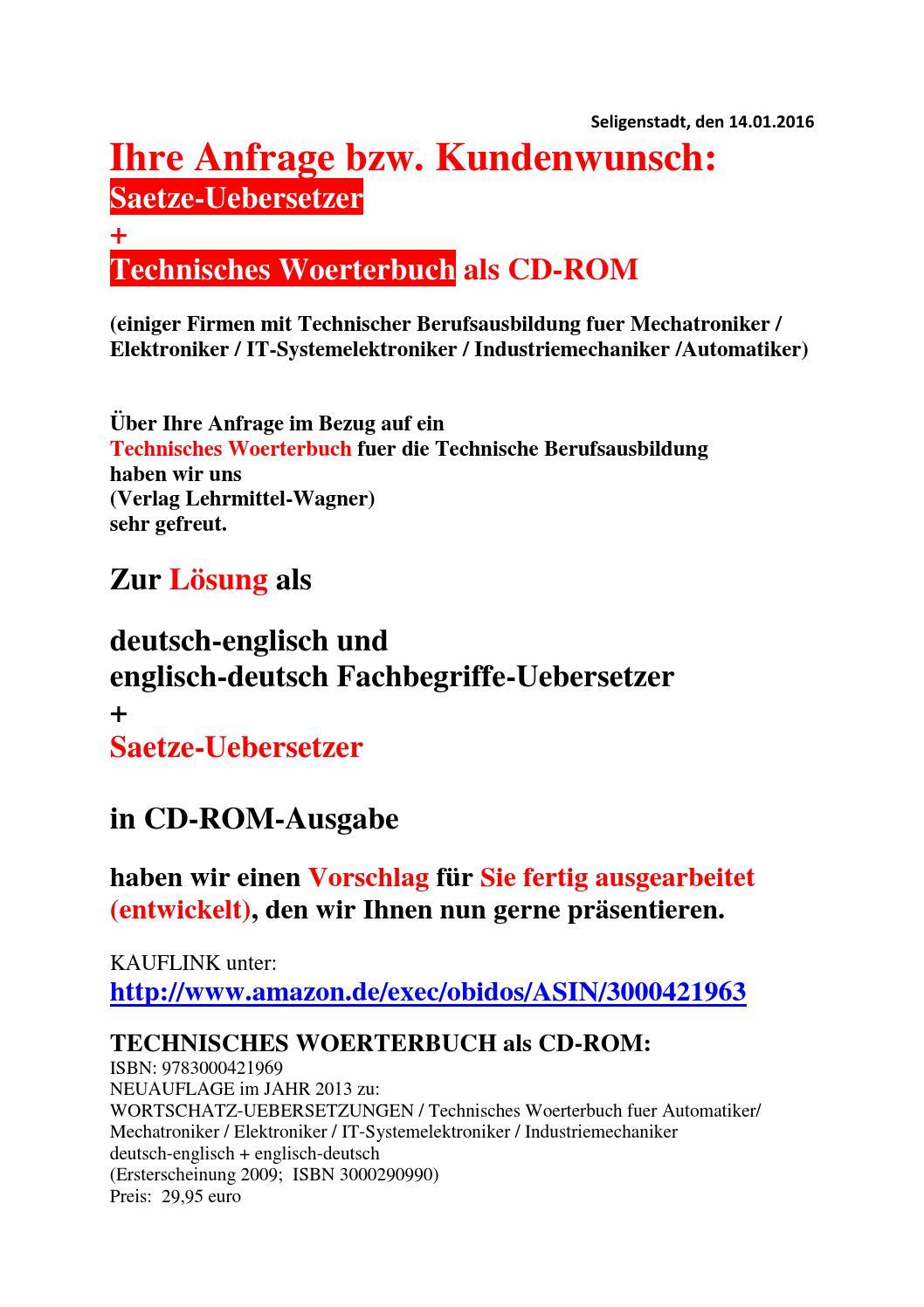 Wunsch der mechatronik azubis deutsch englisch saetze for Ubersetzung englisch deutsch text