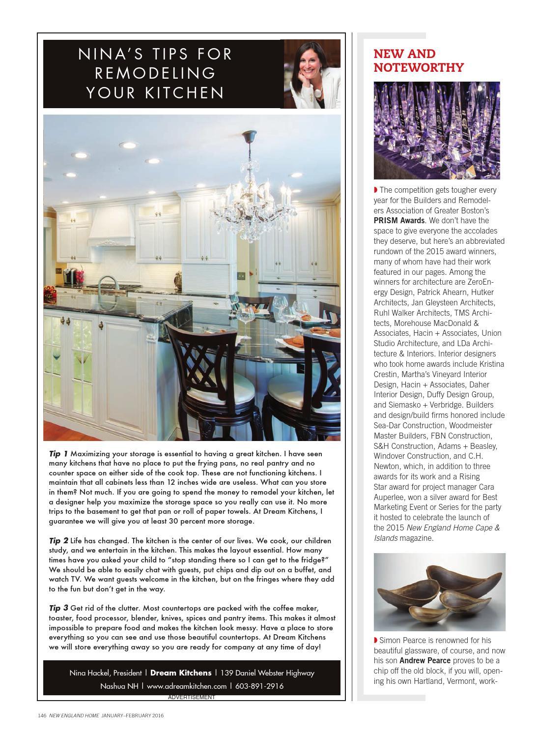 New England Home Jan/Feb 2016 by New England Home Magazine LLC - issuu