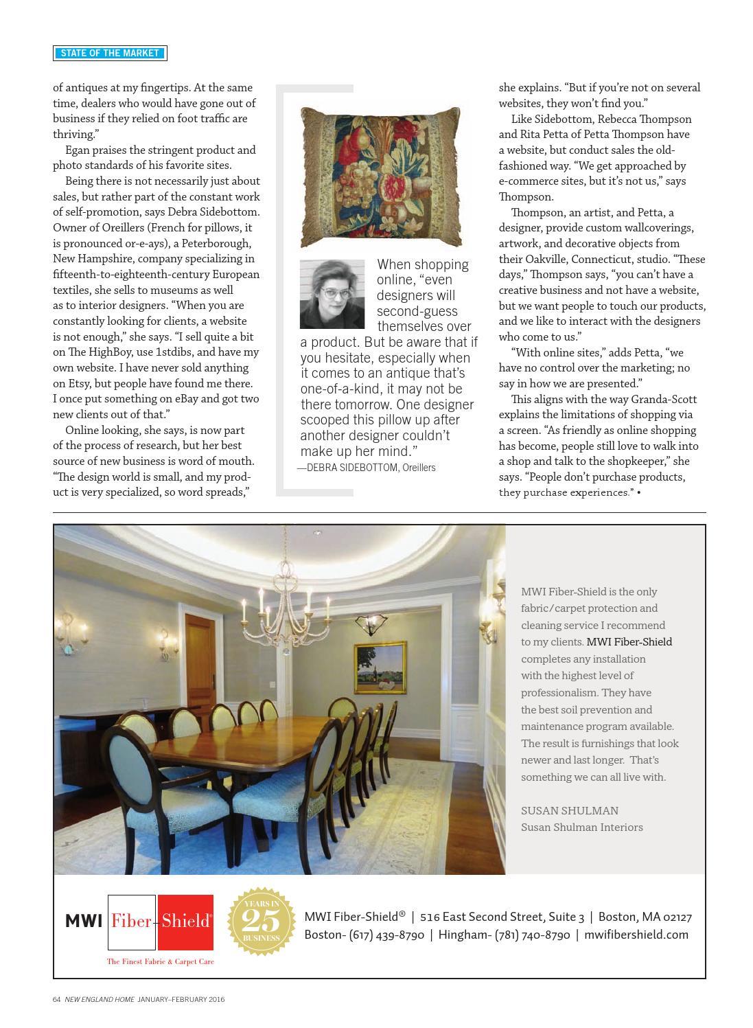 New England Home Jan/Feb 2016 by New England Home Magazine