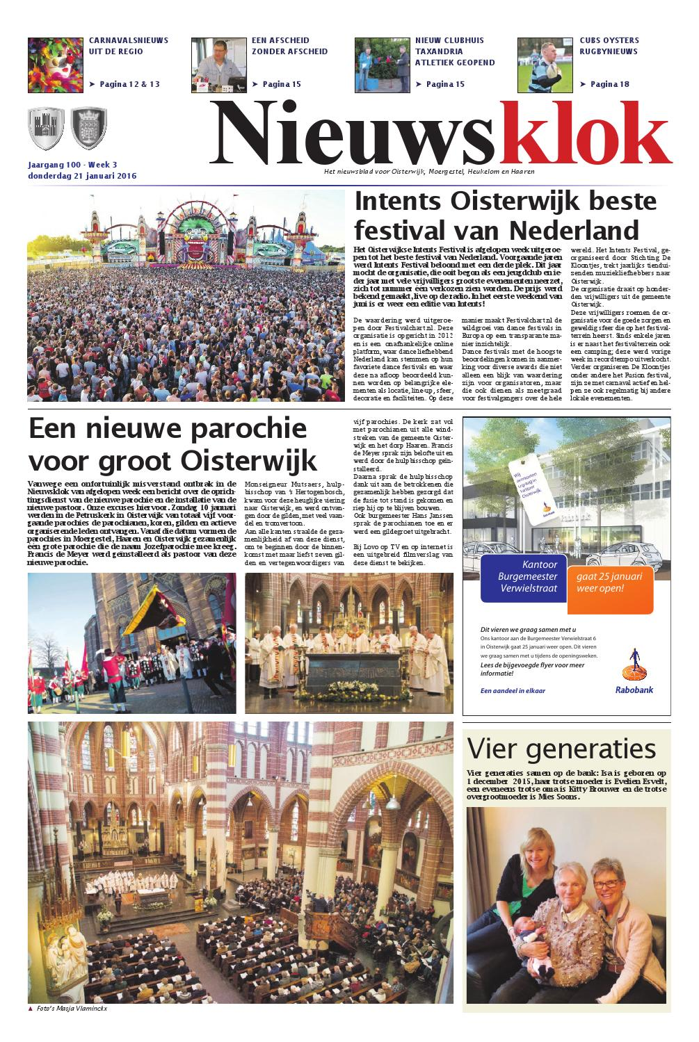 Nieuwsklok 21 01 2016 By Uitgeverij Em De Jong Issuu