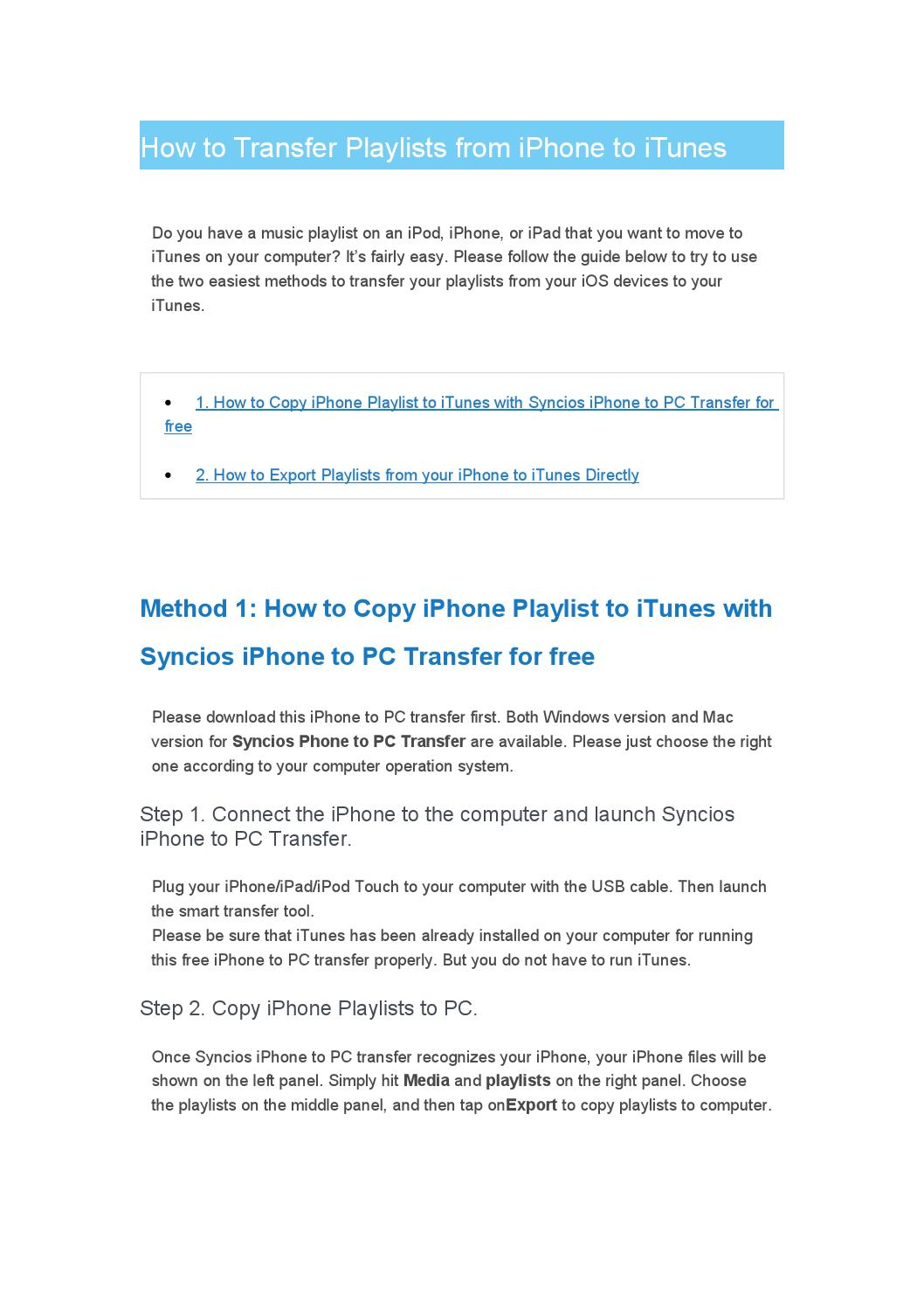 move playlist from itunes to iphone how to transfer playlists from iphone to itunes by heqi123 19393
