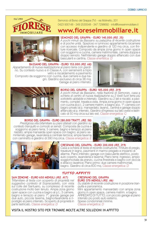 Nuova Serramenti Del Grappa casa&ufficio gennaio / febbraio 2016 by casa e ufficio - issuu