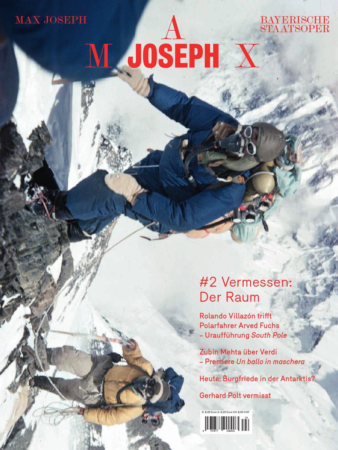MAX JOSEPH #2 Vermessen: Der Raum by Bayerische Staatsoper - issuu