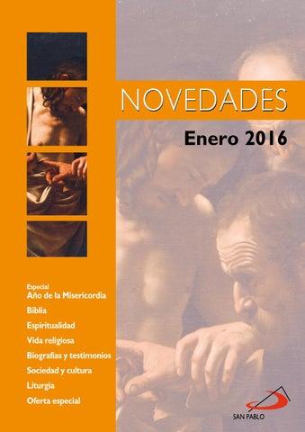 Boletn De Novedades Enero 2016 By Editorial San Pablo Issuu