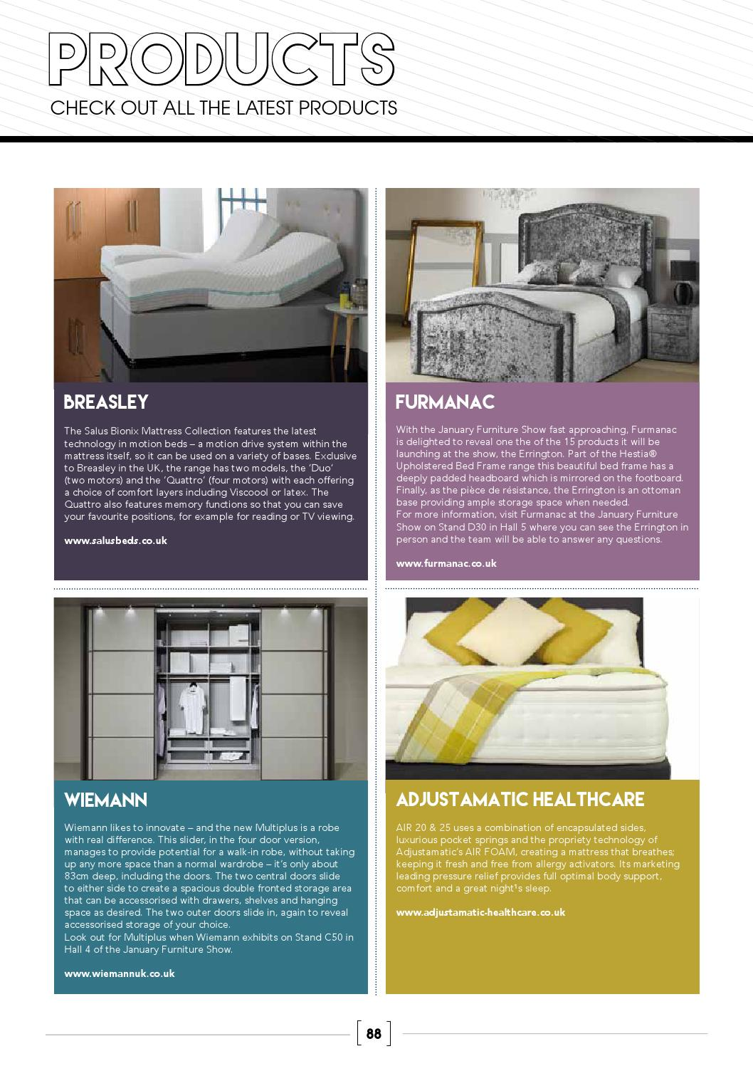 Phenomenal Beds Magazine January 2016 By Cabinet Maker Issuu Inzonedesignstudio Interior Chair Design Inzonedesignstudiocom