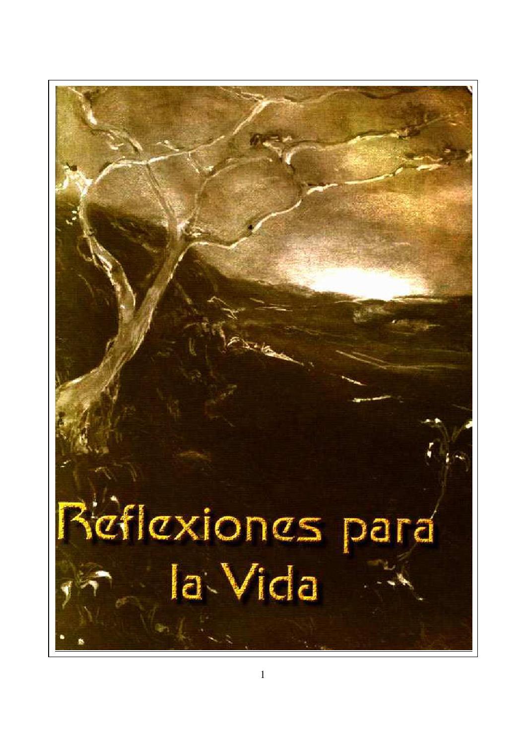 Reflexiones para la vida by luisumr98 - issuu