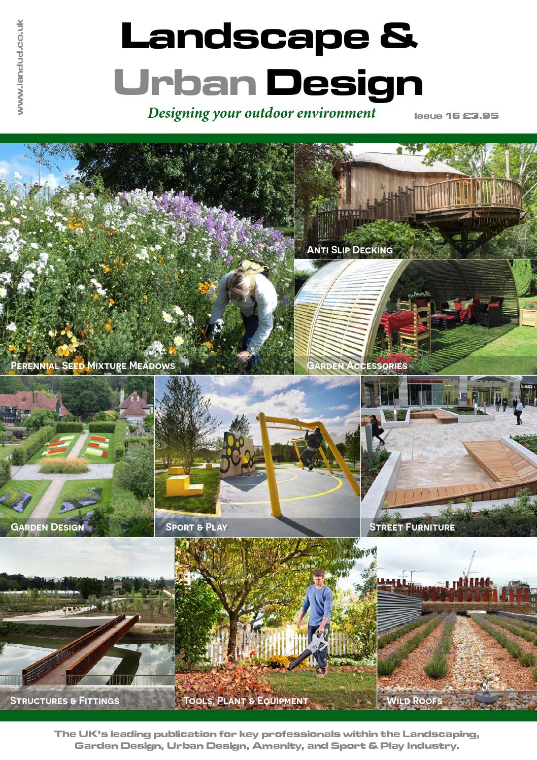 Landscape Urban Design Issue 16 2015 By Mh Media Global Issuu