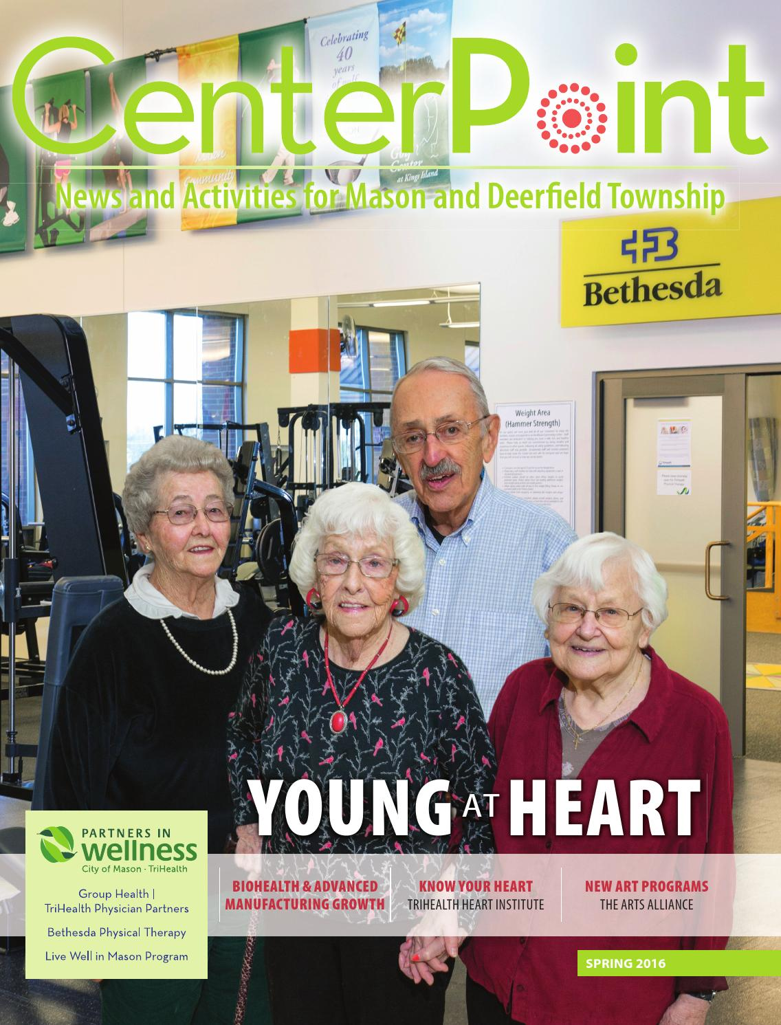 Advance physical therapy magazine - Mason And Deerfield Township Centerpoint Spring 2016 By Cincinnati Magazine Issuu