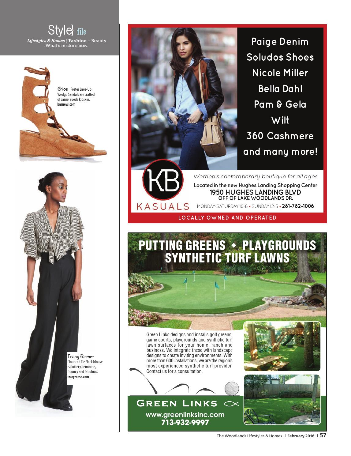 6b61c603abc The Woodlands Lifestyles & Homes February 2016 by Lifestyles & Homes  Magazines/Fort Bend Publishing - issuu