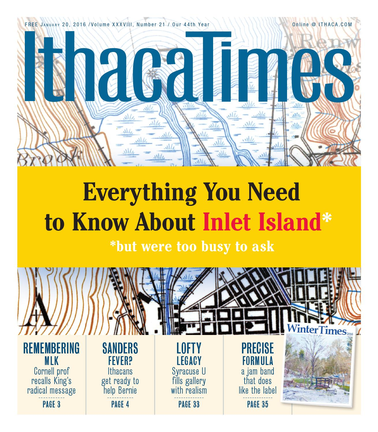 January 20, 2016 by Ithaca Times - issuu