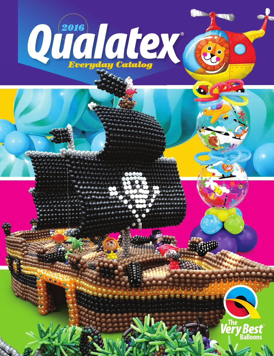 "Amarillo Qualatex 5 /""Látex Globos X 100"