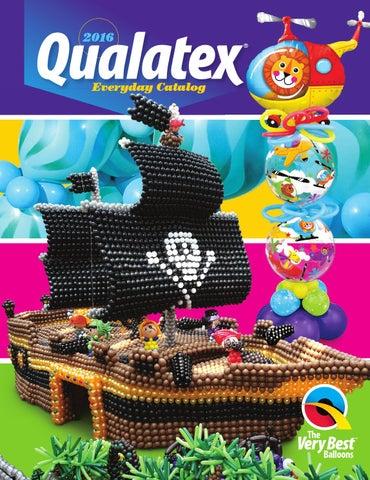 2016 Qualatex Everyday Catalog by Pioneer Balloon Company - issuu 40ee903cb
